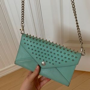 Rebecca Minkoff Spiked Wallet on a Chain